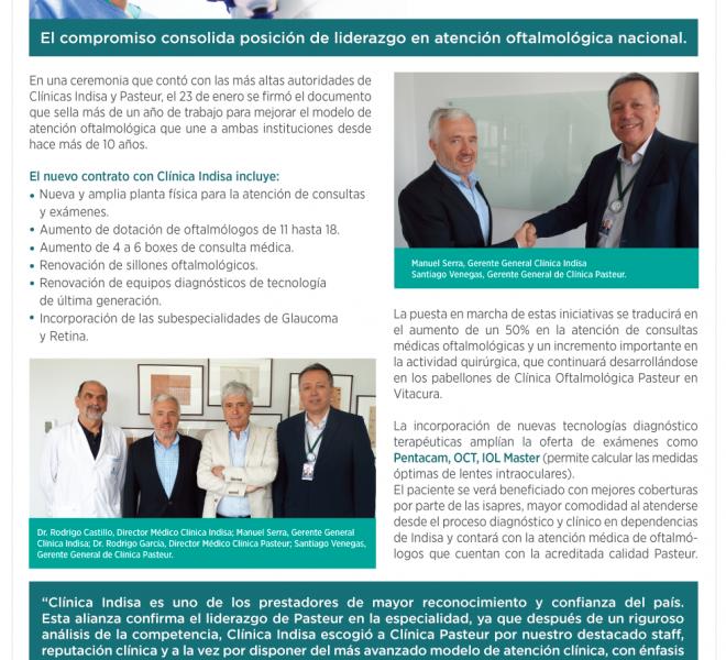Pasteur 2020 | Alianza entre Pasteur e Indisa